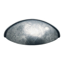 Hafele - Hafele 151.90.951 Pewter Drawer Pulls - Hafele item number 151.90.951 is a beautifully finished Pewter Drawer Pull.