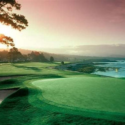 Pebble Beach Green Puzzle - 500 Piece Jigsaw PuzzleThe perfect puzzle for the golf enthusiast, Pebble Green, California, the site of the 2010 U.S. Open Championship Tournament.   � Brian Morgan/Alamy