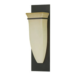 Feiss - Feiss WB1329ORB American Foursquare 1 Light Oil Rubbed Bronze Wall Sconce - Finish: Oil Rubbed Bronze