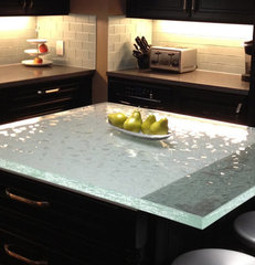 kitchen countertops by ThinkGlass