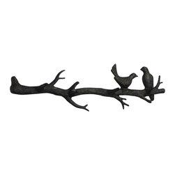 Cyan Design - Bird Branch Coat Hook - Bird branch coat hook - canyon bronze