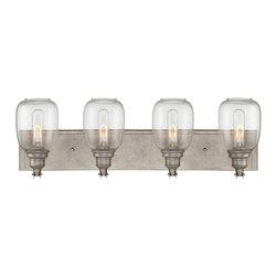 "Savoy House Industrial Steel Bath 28"" Wide Orsay 4 Light Bath - Product Highlights"