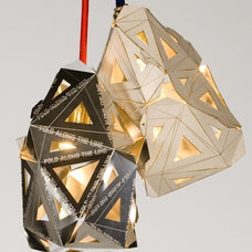 Eclectic Lamp Shades by Felt & Wire Shop