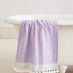 "Anthropologie - Tasseled Dayton Hand Towel - CottonMachine wash35""L, 16""WImported"
