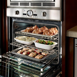30 INCH PROFESSIONAL SERIES DOUBLE OVEN - NEW SoftClose® door ensures ultra