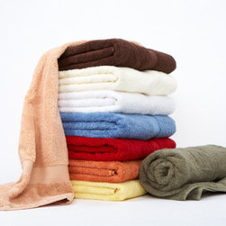 Towels by G.U.S. - Spa Collection Supima Cotton Bath Towel, Sunflower, Bath Sheet - Take pampering seriously with our Spa Collection Supima Cotton Bath Towels. Made from 100% American grown Supima cotton, the long fibers used to weave these super-soft towels are meticulously selected. Designers and decorators alike, know the Supima trademark reflects quality and workmanship they can count on and you can too. Spa Collection Supima Cotton Bath Towels are durable, easy-care towels that get softer and more luxurious after every wash.