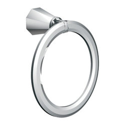 Moen YB9786CH Felicity Towel Ring in Chrome