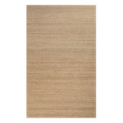 Jaipur Rugs - Naturals Solid Pattern Jute/ Rayon Taupe/Tan Area Rug ( 3.6x5.6 ) - Handwoven in Jute and soft fibers and materials like; Chenille, rayon yarn and cotton, the Himalaya collection has a variety of textures and looks, all at home in a variety of living environments.