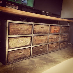 Industrial Dressers: Find A Chest of Drawers or Bedroom Dresser Online