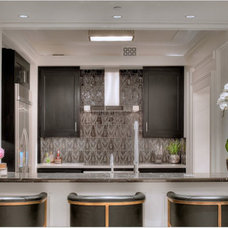 Contemporary Kitchen by Red Rock Tileworks
