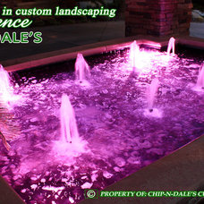 Modern Landscape by CHIP-N-DALE'S CUSTOM LANDSCAPING
