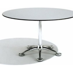 Knoll - Knoll   Pensi 43-In. Round Dining Table - Design by Jorge Pensi, 1988.