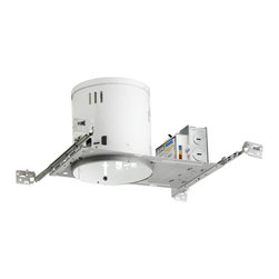 """Juno Lighting - PL642EU 6"""" Non-IC New Construction Housing - 42W Triple Vertical CFL - Housing only. Trim and bulb sold separately."""