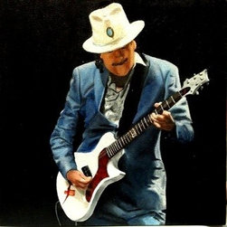 Black Magic Woman (Original) by Jena Rockwood - Carlos Santana playing his Abraxas PRS signature.