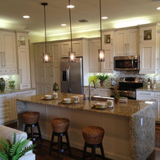 Contemporary Kitchen Cabinets by Ervolina Associates Inc