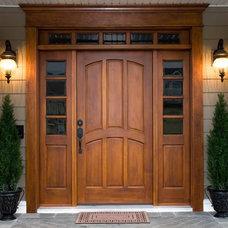 Traditional Front Doors by Window Door Pro