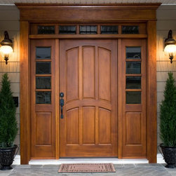 Victoria Collection Entry Wood Door -
