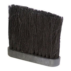 Uniflame - 5 In Fireplace Accessory Broom Tampico Brush - Keep your fireplace and hearth clean and spotless with this high quality brush head. It has durable yet flexible Tampico bristles, allowing it to gather ash, wood chips and much more. Compact head gets into those tough-to-reach spaces, such as between your log rack slats. Tampico bristles. 5 in.