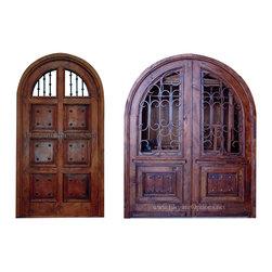 Custom Made Spanish Style Entry Doors -