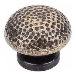 Top Knobs - Top Knobs: Warwick Knob 1 1/2 Inch - Dark Antique Brass - Top Knobs: Warwick Knob 1 1/2 Inch - Dark Antique Brass