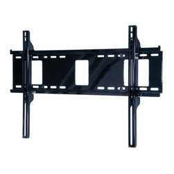 "Peerless - Peerless 32""-60"" Universal Flat Wall Mount - Easily install larger screens with this simple, intuitive mounting solution. Cables and cords are easily managed behind the screen with access ports in the wall plate. For that finished touch after installation, center the screen by smoothly sliding it alo Universal mount accommodates screens with mounting patterns up to 28.75"" W x 17.05"" H