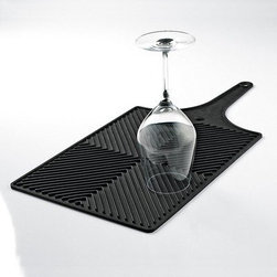 AirFlow Glassware Drying Mat, Kitchen Accessory - Glassware drying mat.