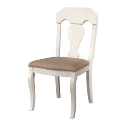 Lea Industries - Lea Hannah Chair - KD in White - Soft curves and pristine white paint make this the perfect chair for your best girl's room. It's got a fresh, feminine vibe and is comfy enough for hours and hours of torturous homework and studying.