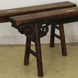 Asian Antique Gate Bench - Asian Antique Gate Bench