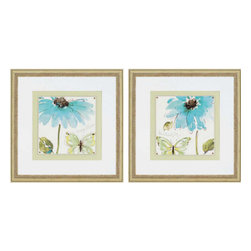 Paragon - Morning Dew PK/2 - Framed Art - Each product is custom made upon order so there might be small variations from the picture displayed. No two pieces are exactly alike.