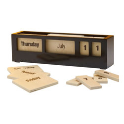 Design Ideas - Day Tile Calendar - Our Day Tile Calendar by Design Ideas, is sylish and functional. It is suitable in the beginning of every new working year. Sleek and modern that goes with any home and office decor.