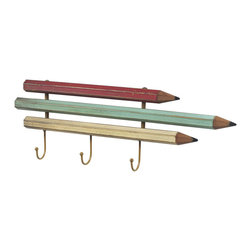Sterling Industries - Sterling Industries 129-1050 Pencil Coat Hook - Small - Coat Hook (3)