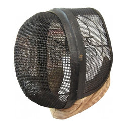 Fencing Mask II - Great piece of Sports Memorabilia - this fencing mask is in good vintage condition - not perfect, but really good. It is structurally sound and looks great, but shows signs of its age - something I think adds to its appeal, rather than detracting from it.