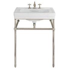 Traditional Bathroom Sinks Maddocks Console Sink