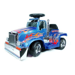 New Star - New Star Optimus Prime Truck Battery Powered Riding Toy Multicolor - TF-879-OP - Shop for Tricycles and Riding Toys from Hayneedle.com! About Kidz DelightJust like Santa Claus Kidz Delight is one of the nation's largest toy and gift distributors. Under the Group Sales Inc. umbrella they've been providing quality toys and gifts at fair prices for years. Kidz Delight is a leader in early childhood electronic learning aids and dozens of their toys have won awards. From interactive memory games to smart cards to musical instruments Kidz Delight toys will make your little one smile.