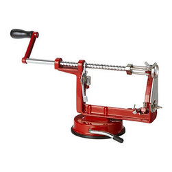 Apple Peeler - I'm a firm believer in the idea that sometimes a pretty kitchen tool is all it takes to inspire you to cook. This apple peeler has me dreaming of baking my first apple pie with the autumn harvest.