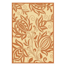 Safavieh - Safavieh Courtyard Cy2961-3201 Natural / Terra Area Rug - Traditional patterns and classic beauty are found in the area rugs of the Courtyard collection. Made in Belgium of enhanced polypropylene, these rugs are extremely durable and perfect for indoor or outdoor use. The area rugs of the Safavieh Courtyard collection offer highly detailed and sophisticated designs created through an unusual sisal weave. Select the colors, design, and style that will compliment any room in your home in round, rectangular or runner rugs.