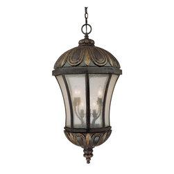 Savoy House - Savoy House 5-2505-306 Ponce de Leon Old Tuscan Outdoor Lantern - Savoy House 5-2505-306 Ponce de Leon Old Tuscan Outdoor Lantern