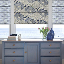 Blindsgalore - Blindsgalore Designer Roman Shades: Floral Patterns - Blindsgalore® Designer Roman Shades: Floral Patterns is made from 100% cotton fabric and features colorful floral patterns