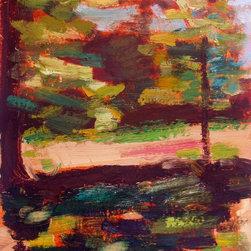 Esther'S Shade, Original, Painting - Vermont landscape plein air oil painting.