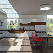 Contemporary Kitchen Cabinetry by EVAA Home Design Center