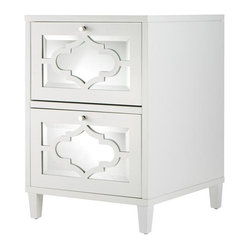 Home Decorators Collection - Reflections File Cabinet I - Our Reflections File Cabinet will ...