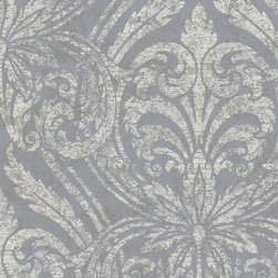 York Wallcoverings - GN2484 Wallpaper, Double Roll - Prepasted: Paste has already been applied to the back of the wallpaper and is activated with water.