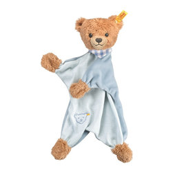 Steiff - Steiff Sleep Well Teddy Bear Comforter - Steiff Sleep Well Teddy Bear Comforter is made of plush for baby-soft skin. Ages 3 and up. Machine washable. Handmade by Steiff of Germany.