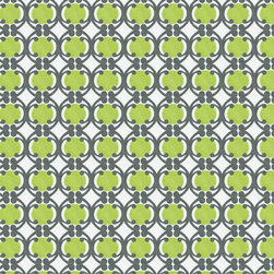 Organic Geometric Fabric - Made from 100% Certified Organic Cotton and colored using low-impact dyes, this geometric pattern adds the perfect touch to any of your earth friendly projects.