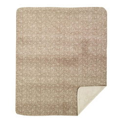 Throw Blanket Denali Stone Tapestry/Stone - Denali micro plush throws are considered the Cadillac of throws due to their rich colors and soft feel. These throws are softer and warmer than fleece.