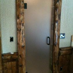 Frameless Shower Door -