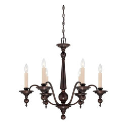 Savoy House Lighting - Savoy House Lighting Sutton Place Traditional Classic Chandelier X-31-6-6271-1 - Sutton Place has the look of traditional fixtures with a little modern flair. The English Bronze finish and classic design make this group flawless.
