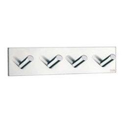Smedbo - Smedbo Quad Hook, Polished Stainless Steel - Smedbo Quad Hook, Polished Stainless Steel