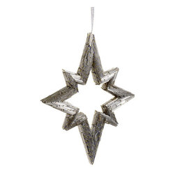 Silk Plants Direct - Silk Plants Direct Bead Northern Star Ornament (Pack of 6) - Silver - Pack of 6. Silk Plants Direct specializes in manufacturing, design and supply of the most life-like, premium quality artificial plants, trees, flowers, arrangements, topiaries and containers for home, office and commercial use. Our Bead Northern Star Ornament includes the following: