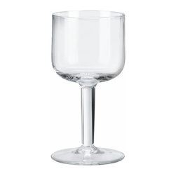 "Alessi - Alessi ""All-Time"" Wine Glass, Set of 4 - Wine glass in crystalline glass."